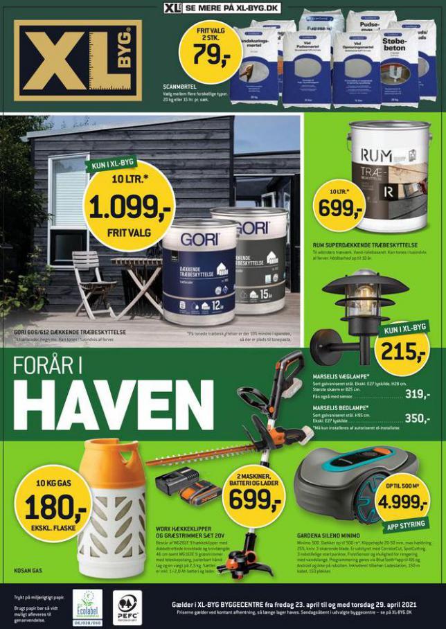 FORÅR I HAVEN . XL-BYG (2021-04-29-2021-04-29)