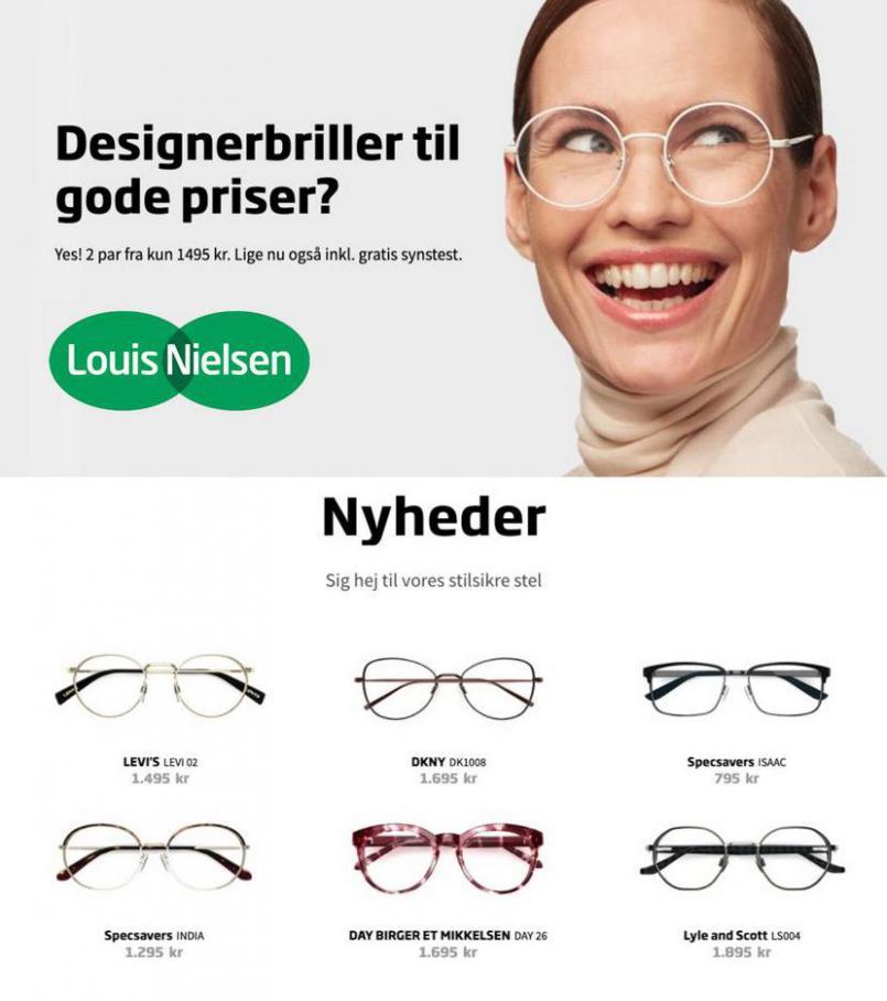 Designebriller til gode priser . Louis Nielsen (2021-05-02-2021-05-02)