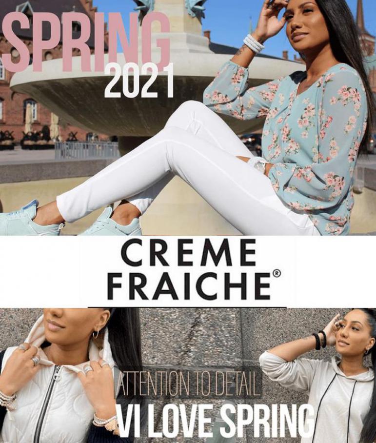 Forår 2021 . Creme Fraiche (2021-04-19-2021-04-19)