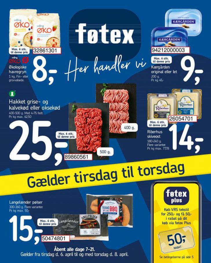 Fotex . Føtex (2021-04-08-2021-04-08)