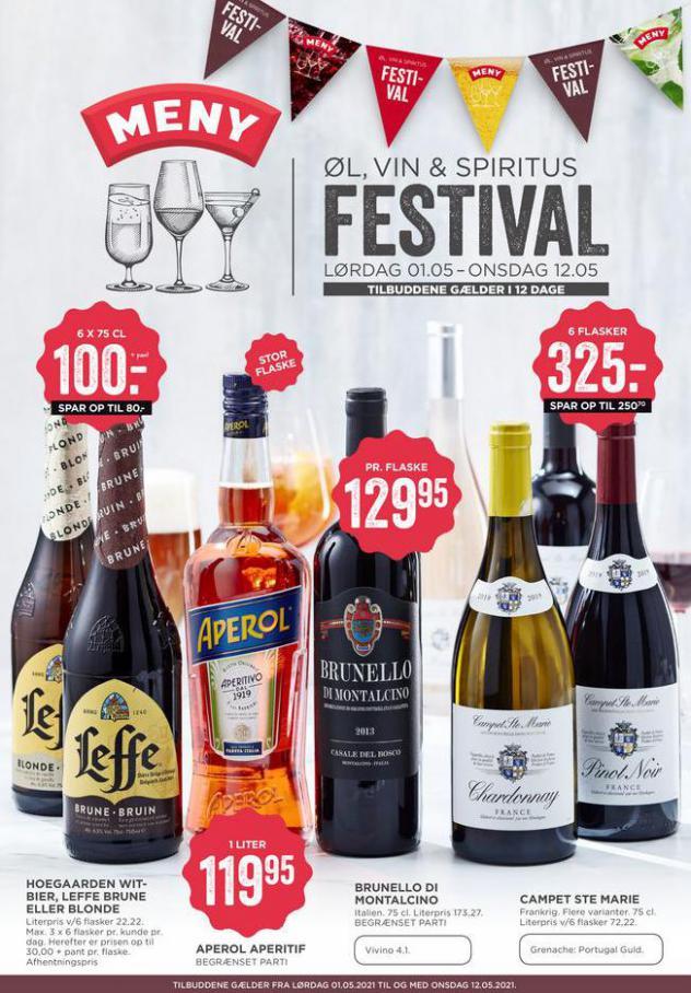 Vin & Spiritus Festival . MENY (2021-05-12-2021-05-12)