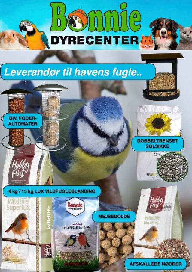Leverandør til havens fugle . Bonnie Dyrecenter (2021-04-26-2021-04-26)