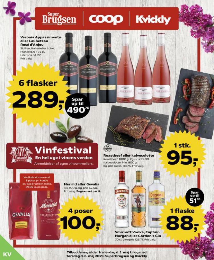 Vinfestival . Kvickly (2021-05-06-2021-05-06)
