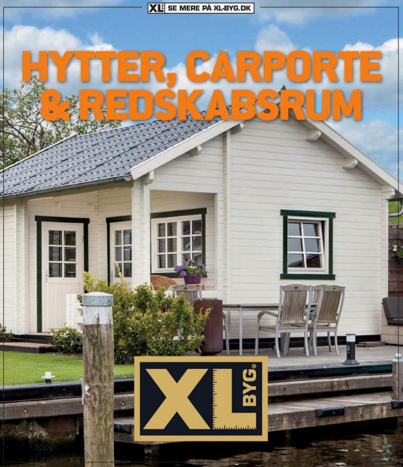 HYTTER, CARPORTE & REDSKABSRUM . XL-BYG (2021-05-15-2021-05-15)