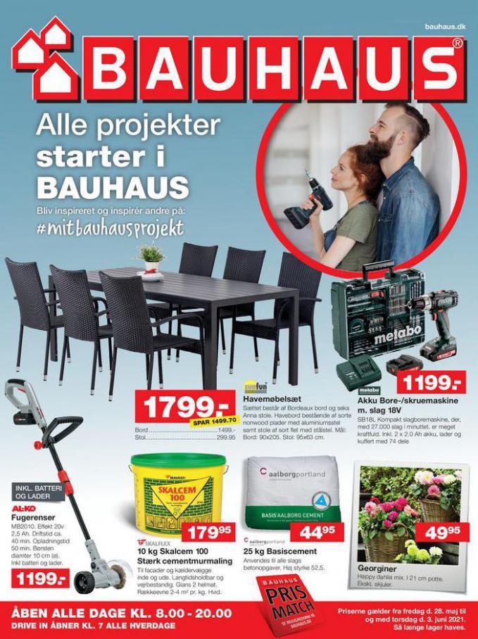 Bauhaus Tilbudsavis . Bauhaus (2021-06-03-2021-06-03)