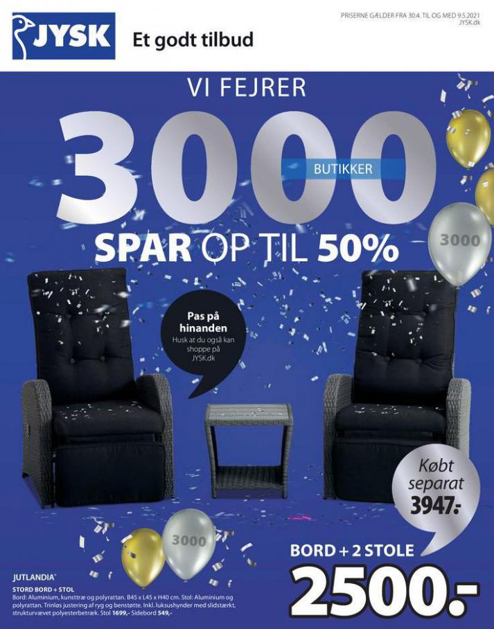 SPAR OP TIL 50% . JYSK (2021-05-09-2021-05-09)