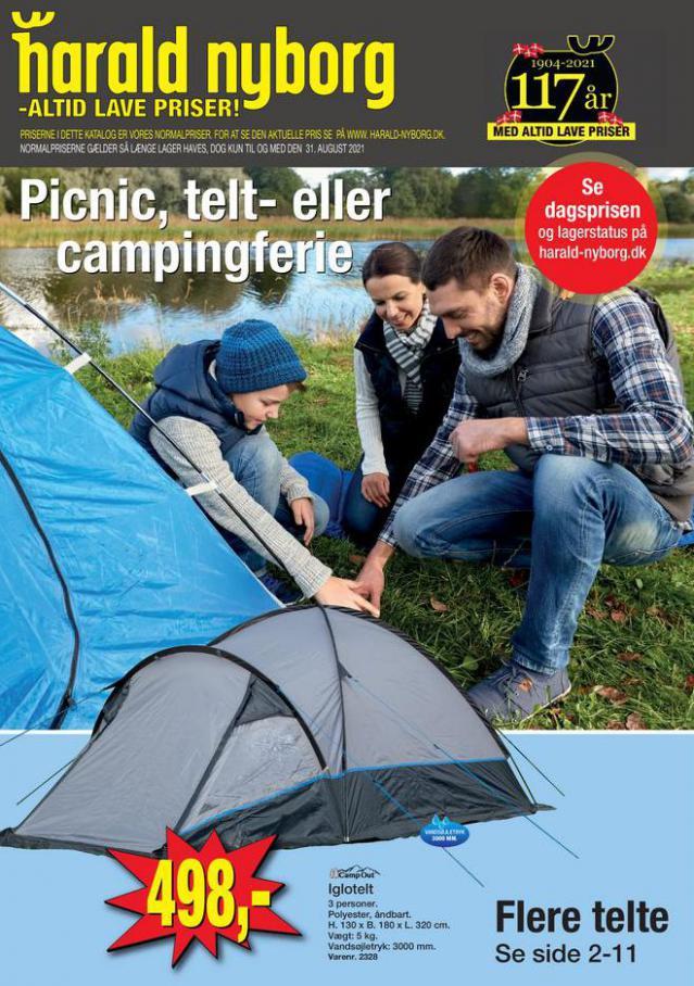 Harald Nyborg Tilbudsavis Camping . Harald Nyborg (2021-08-31-2021-08-31)
