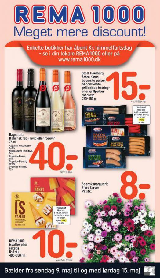 Meget mere discount! . Rema 1000 (2021-05-15-2021-05-15)