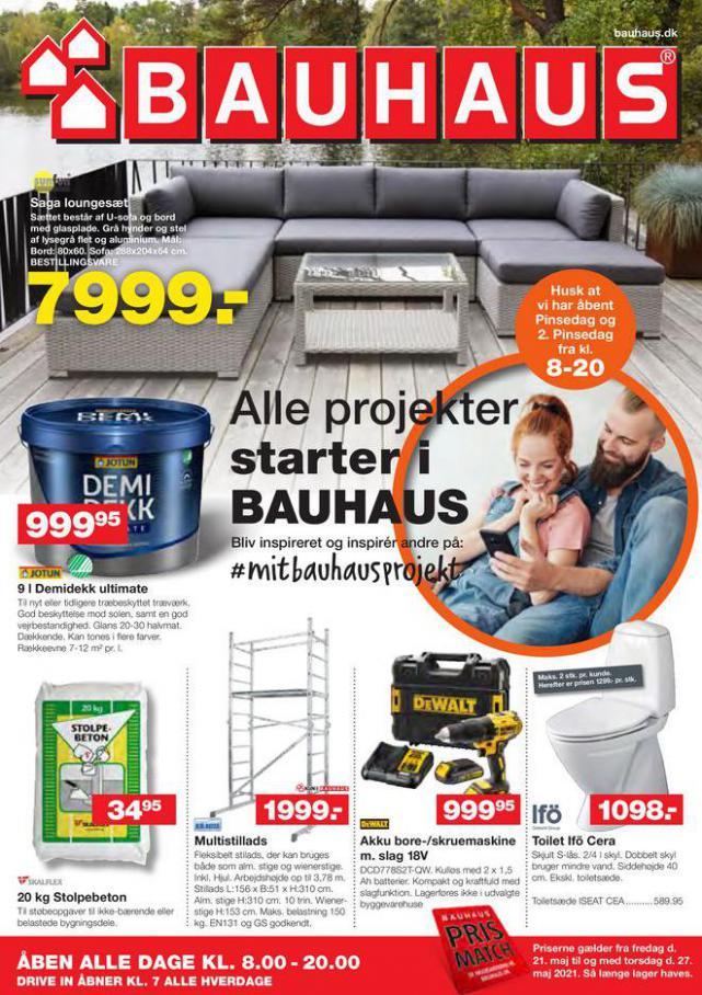 Bauhaus Tilbudsavis . Bauhaus (2021-05-24-2021-05-24)