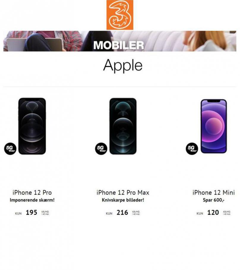 Mobiler . 3 Butikker (2021-05-16-2021-05-16)