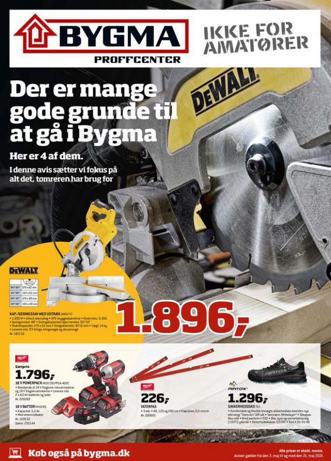 Håndværkeravis . Bygma (2021-05-21-2021-05-21)