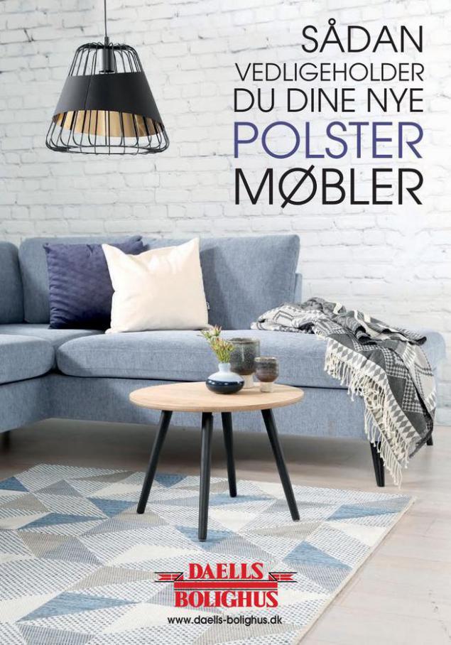 Vedligeholdelse af polstermøbler. Daells Bolighus (2021-06-30-2021-06-30)