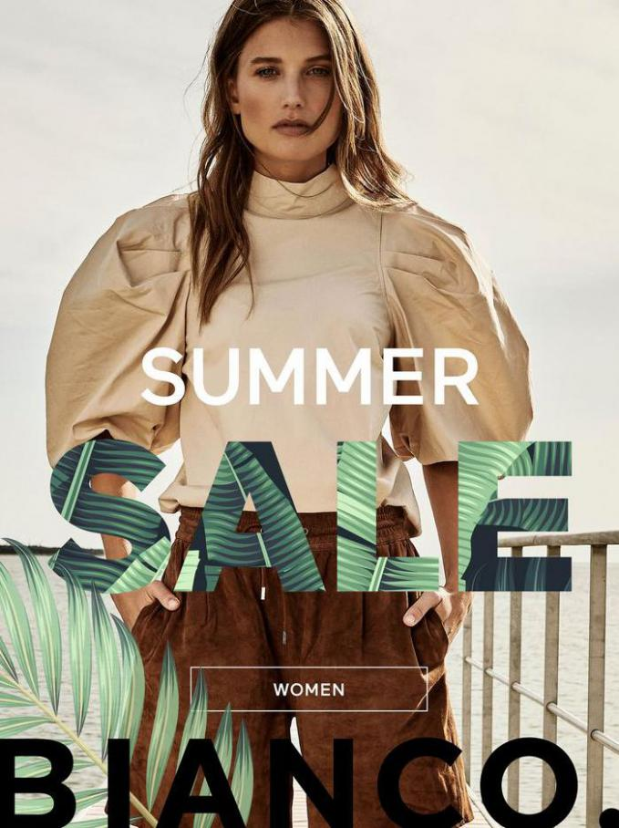 WOMEN SUMMER SALE. Bianco (2021-07-08-2021-07-08)