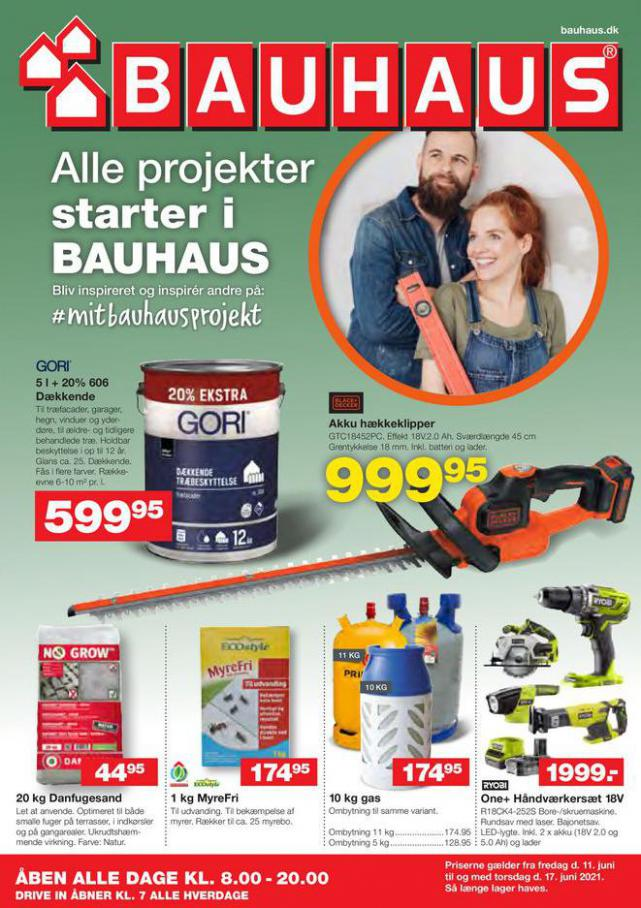 Bauhaus Tilbudsavis. Bauhaus (2021-06-17-2021-06-17)