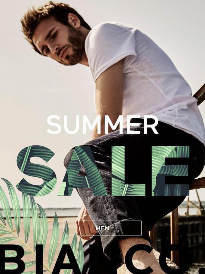 MEN SUMMER SALE. Bianco (2021-07-08-2021-07-08)