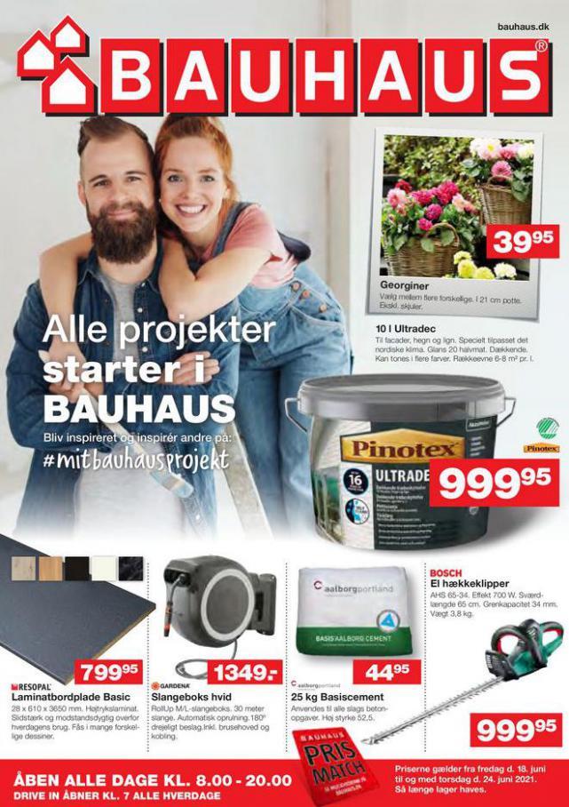 Bauhaus Tilbudsavis. Bauhaus (2021-06-21-2021-06-21)