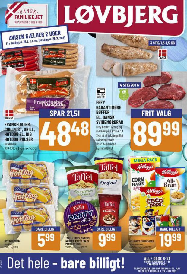 Bare billigt. Løvbjerg (2021-07-29-2021-07-29)