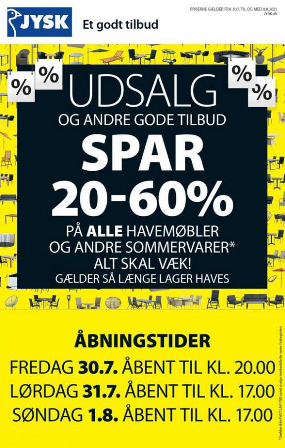 Aktuelle aviser og kataloger JYSK. JYSK (2021-08-02-2021-08-02)