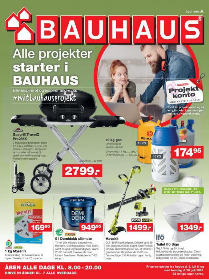Bauhaus Tilbudsavis. Bauhaus (2021-07-12-2021-07-12)