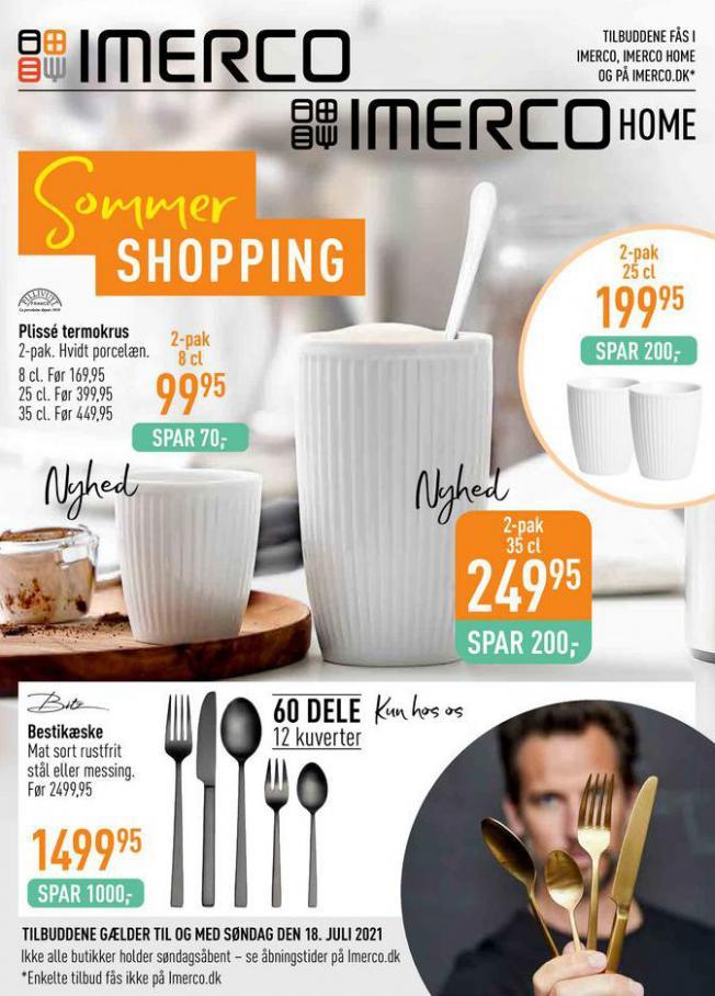 Sommer Shopping. Imerco (2021-07-18-2021-07-18)
