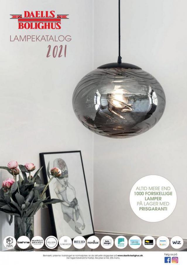 Lampekatalog 2021. Daells Bolighus (2021-07-31-2021-07-31)