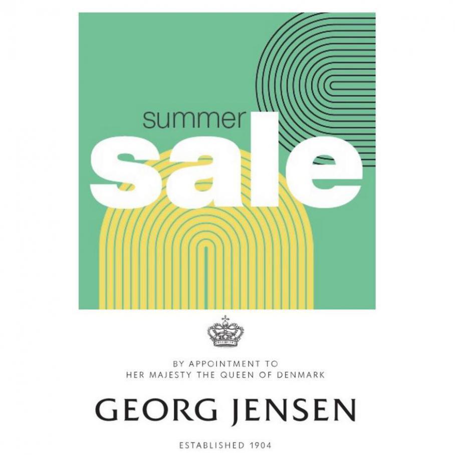 SUMMER SALE. Georg Jensen (2021-07-16-2021-07-16)