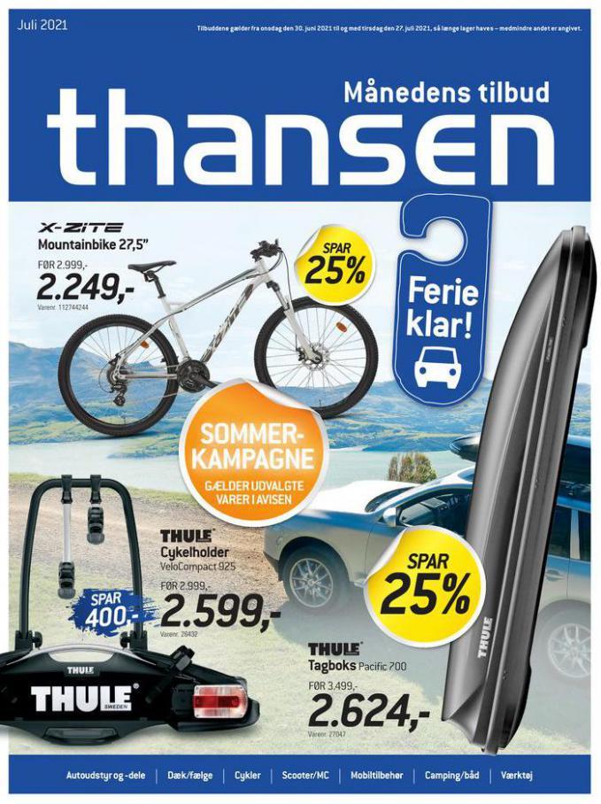 Månedens tilbud. Thansen (2021-07-27-2021-07-27)