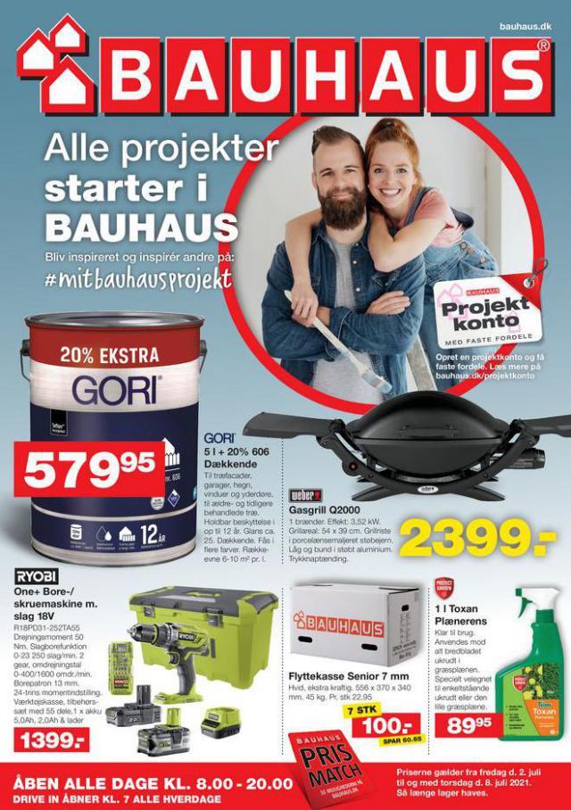 Bauhaus Tilbudsavis. Bauhaus (2021-07-05-2021-07-05)