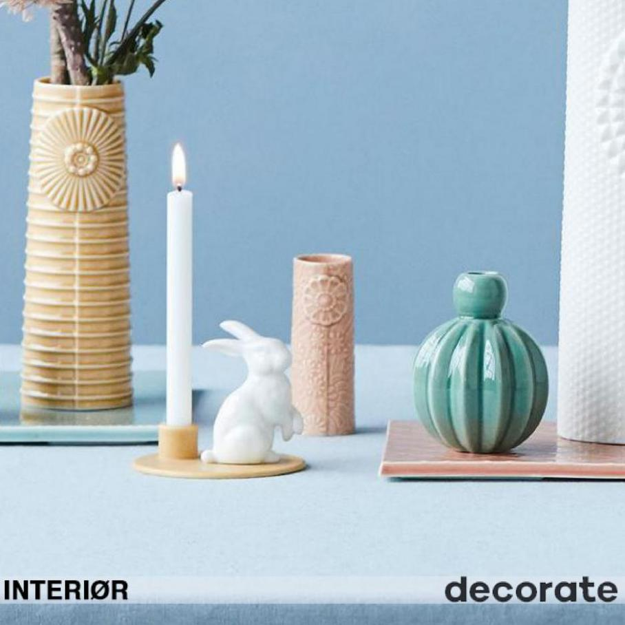 Interiør. Decorate Shop (2021-08-31-2021-08-31)