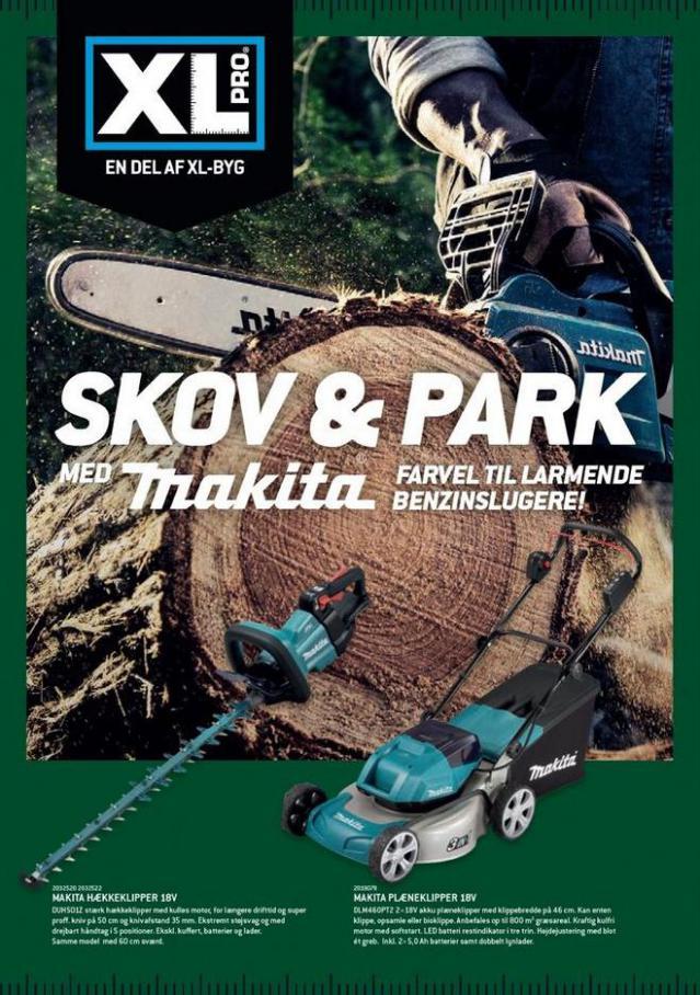 Skov Og park Makita. XL-BYG (2021-07-31-2021-07-31)