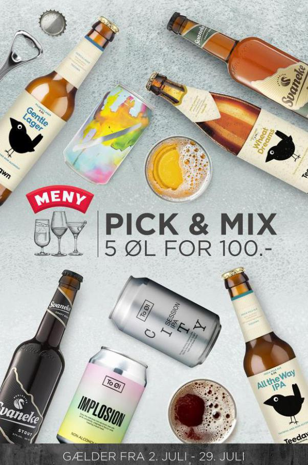 Pick & Mix. MENY (2021-07-29-2021-07-29)
