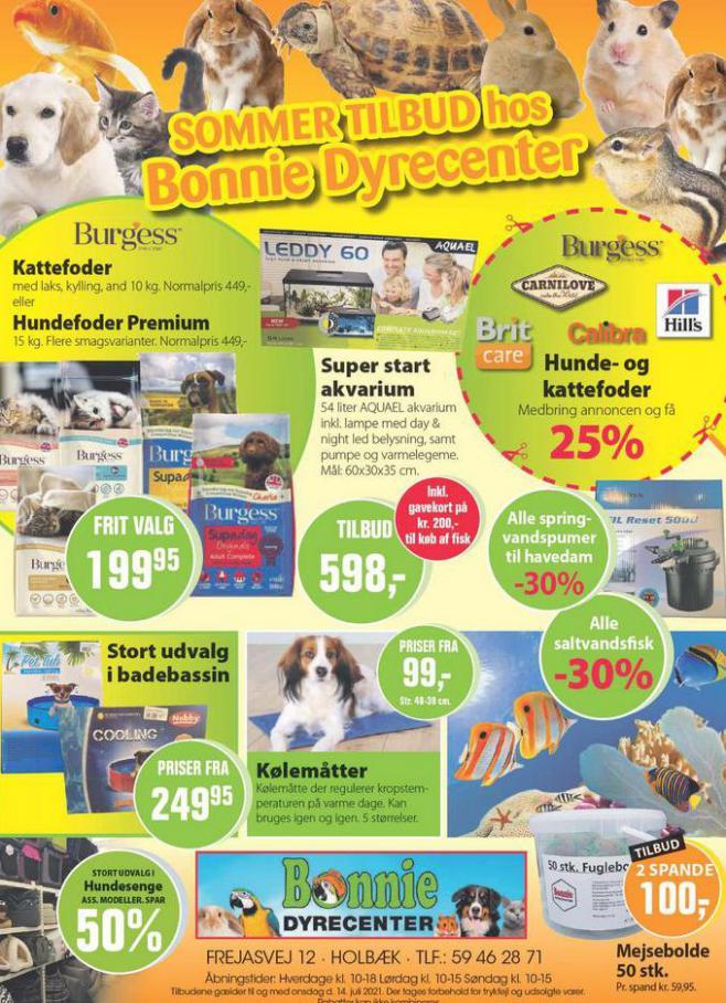 Sommer Tilbud. Bonnie Dyrecenter (2021-07-31-2021-07-31)