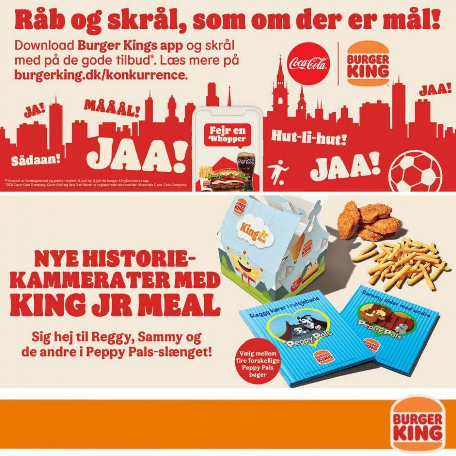 Burger King Tilbudsavis. Burger King (2021-08-02-2021-08-02)