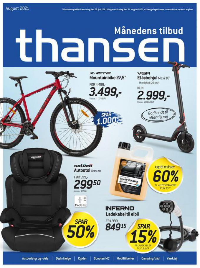 Aktuel tilbudsavis. Thansen (2021-08-31-2021-08-31)