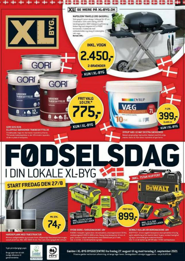 Tilbudsavis. XL-BYG (2021-09-02-2021-09-02)