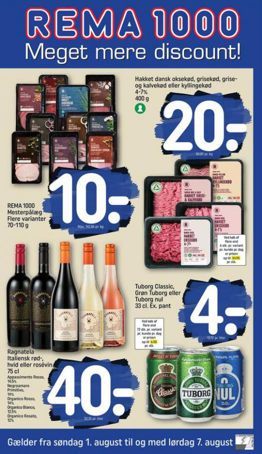 Meget mere discount!. Rema 1000 (2021-08-07-2021-08-07)