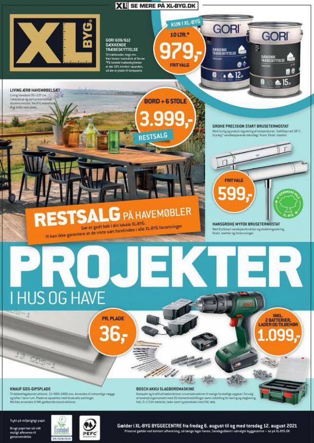 Projekter. XL-BYG (2021-08-12-2021-08-12)