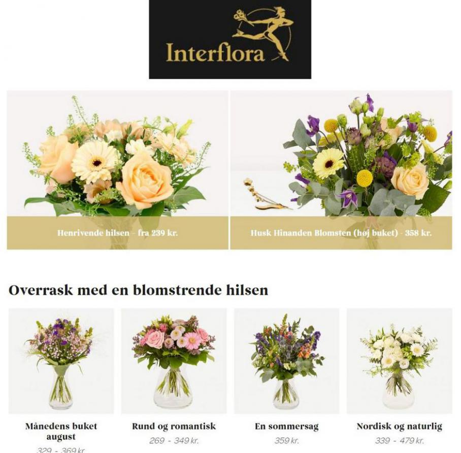 Den perfekte kombination. Interflora (2021-09-06-2021-09-06)