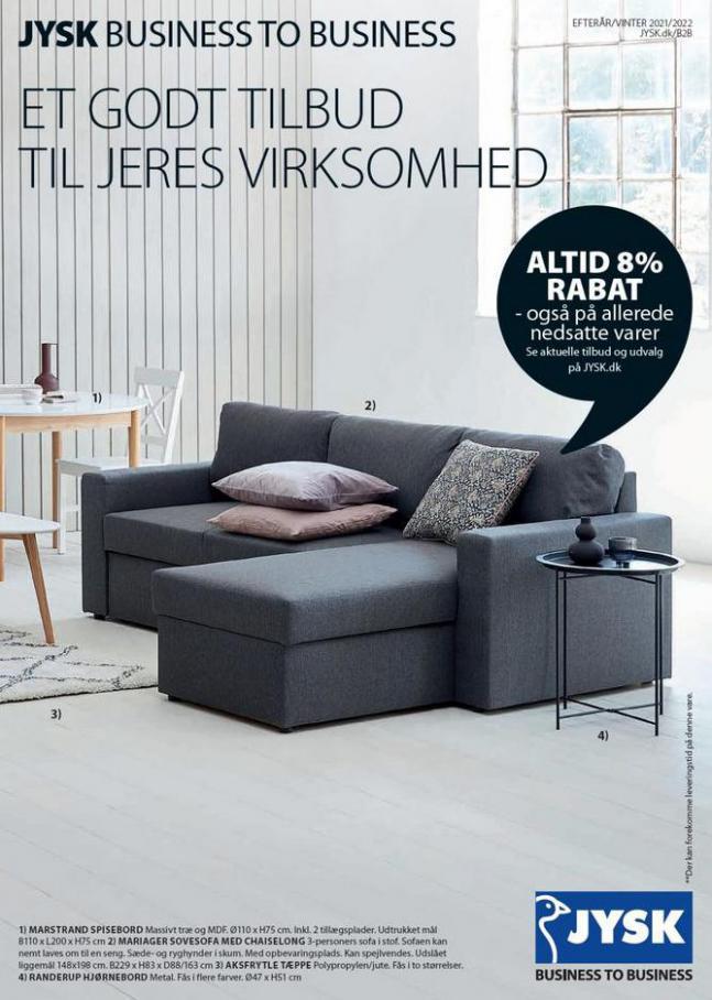 Business to Business katalog. JYSK (2022-01-31-2022-01-31)