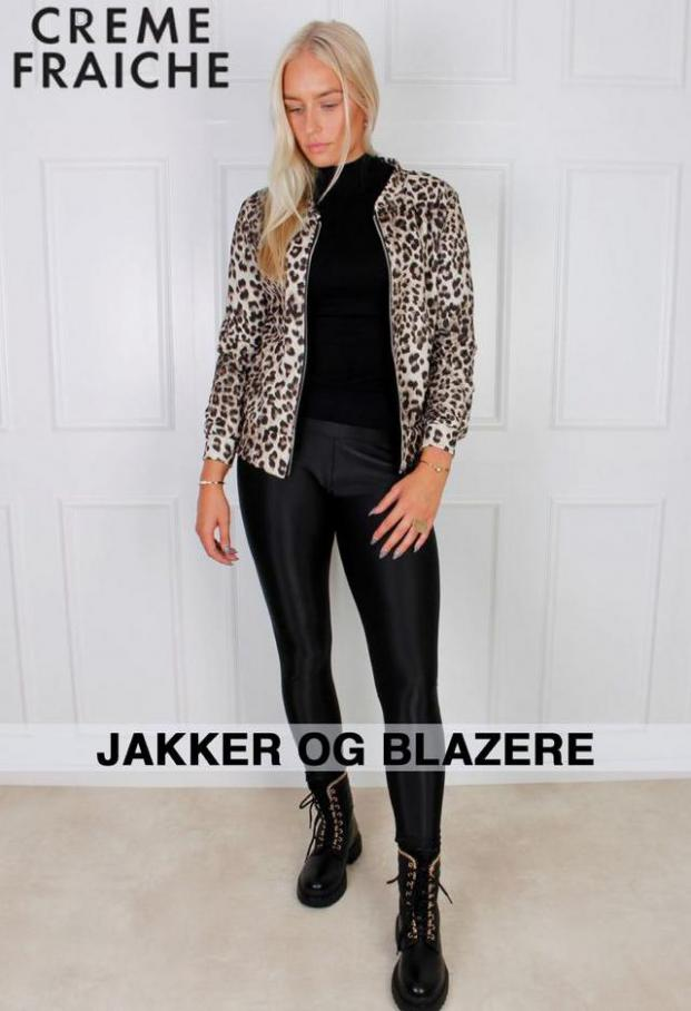 JAKKER OG BLAZERE. Creme Fraiche (2021-11-14-2021-11-14)