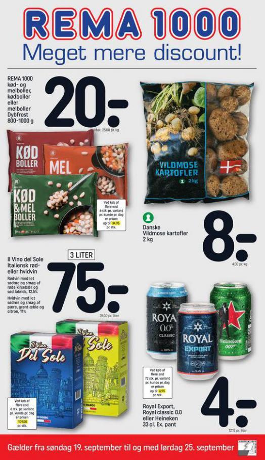 Meget mere discount!. Rema 1000 (2021-09-19-2021-09-19)