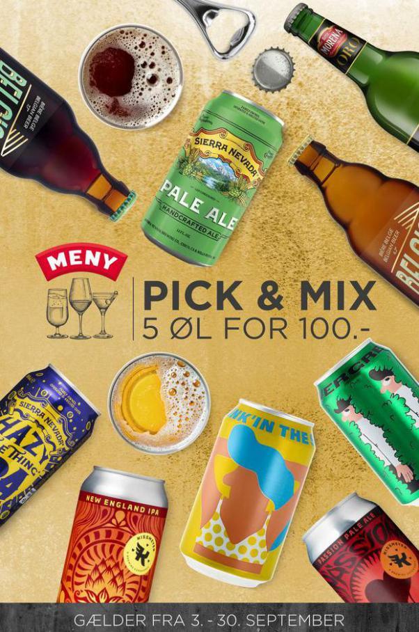 PICK & MIX. MENY (2021-09-30-2021-09-30)