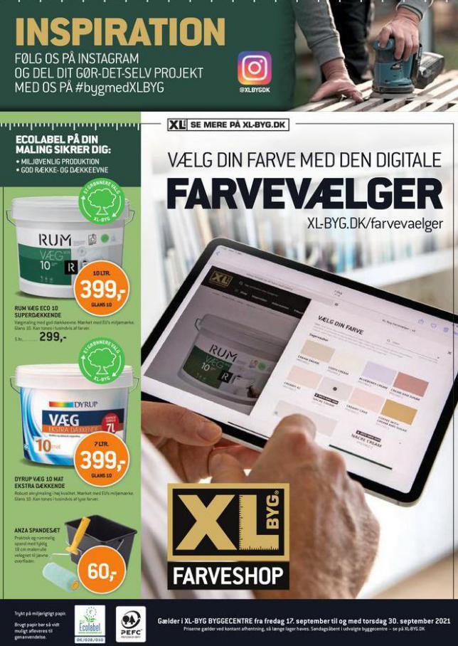 Farvevaelger. XL-BYG (2021-09-30-2021-09-30)