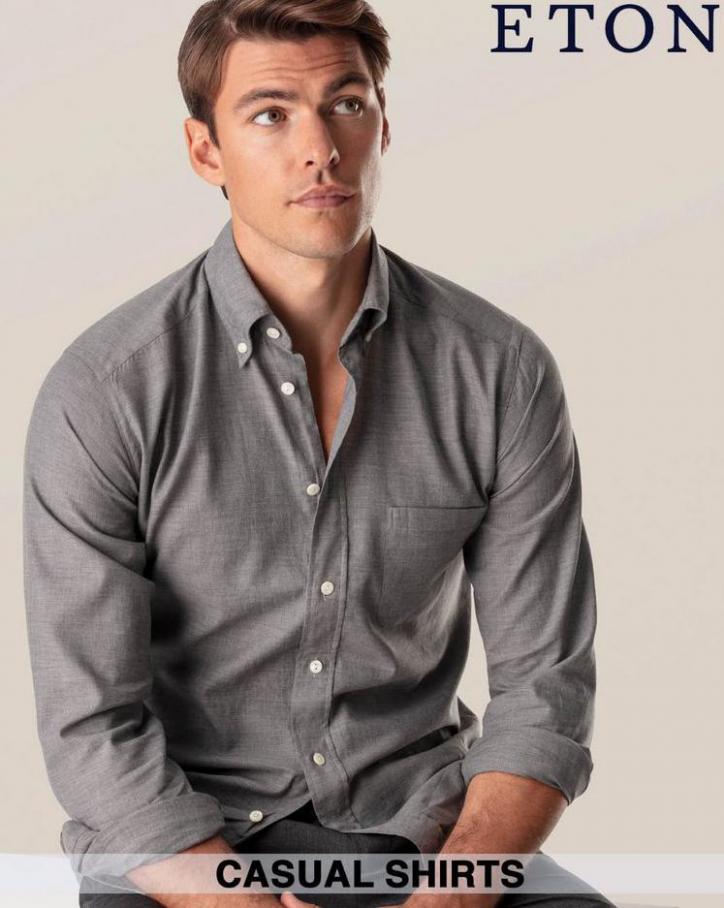 Casual Shirts. Eton (2021-09-30-2021-09-30)