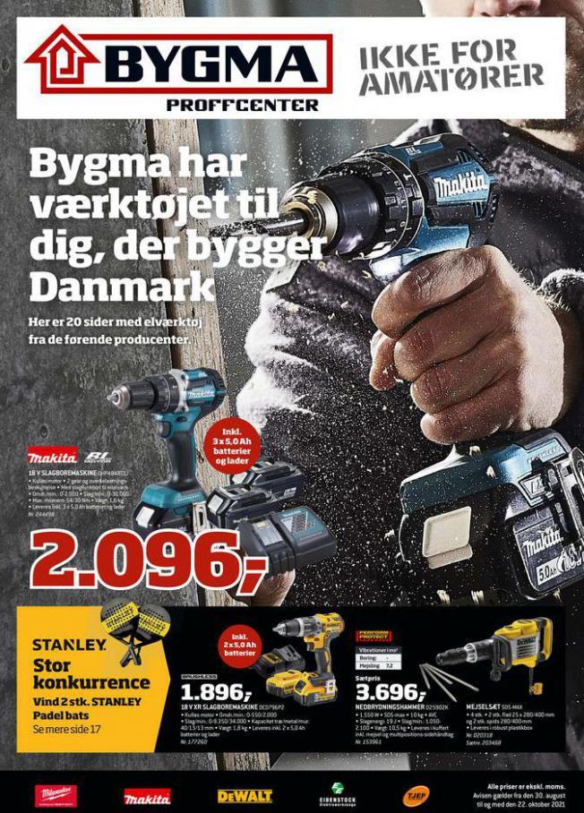 Bygma - Elværktøjsavis uge 35 - 42 2021. Bygma (2021-10-22-2021-10-22)