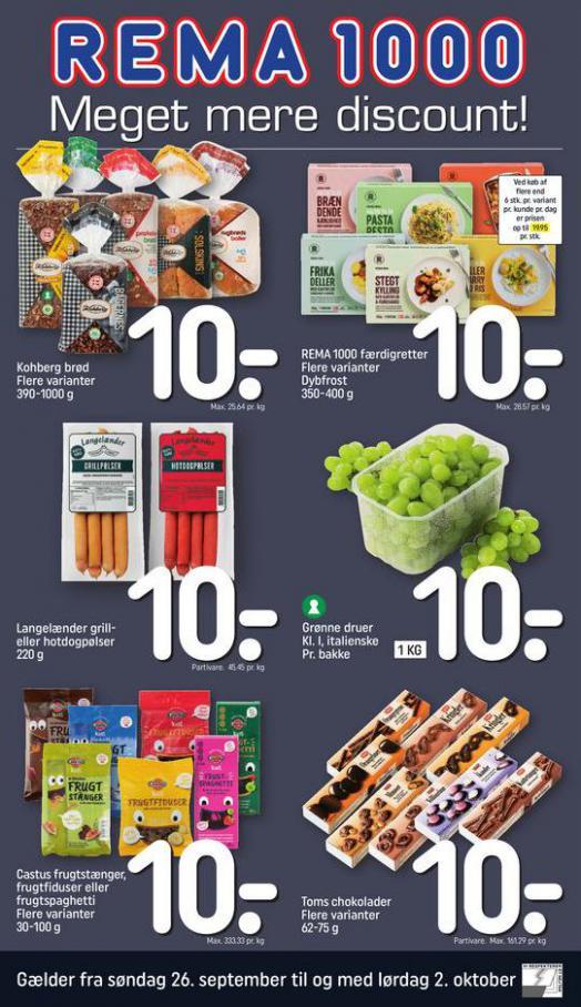 Meget mere discount!. Rema 1000 (2021-10-02-2021-10-02)