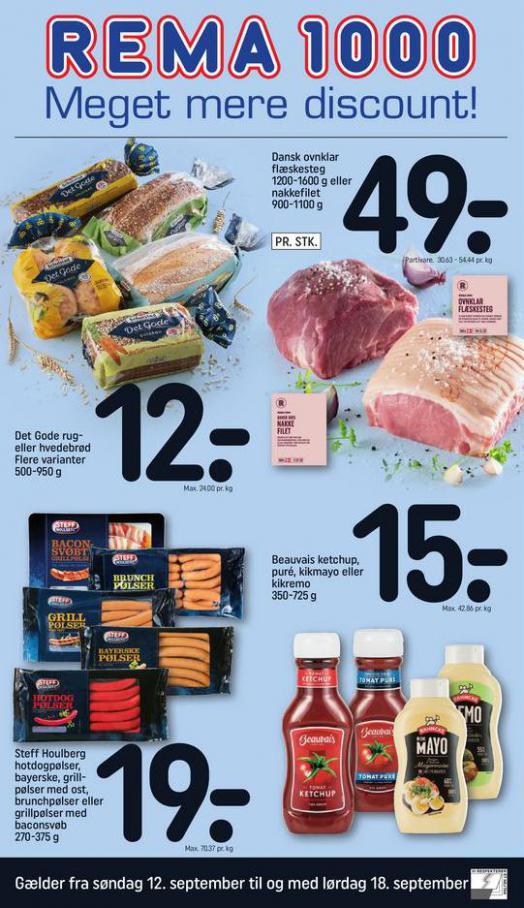 Meget mere discount!. Rema 1000 (2021-09-18-2021-09-18)