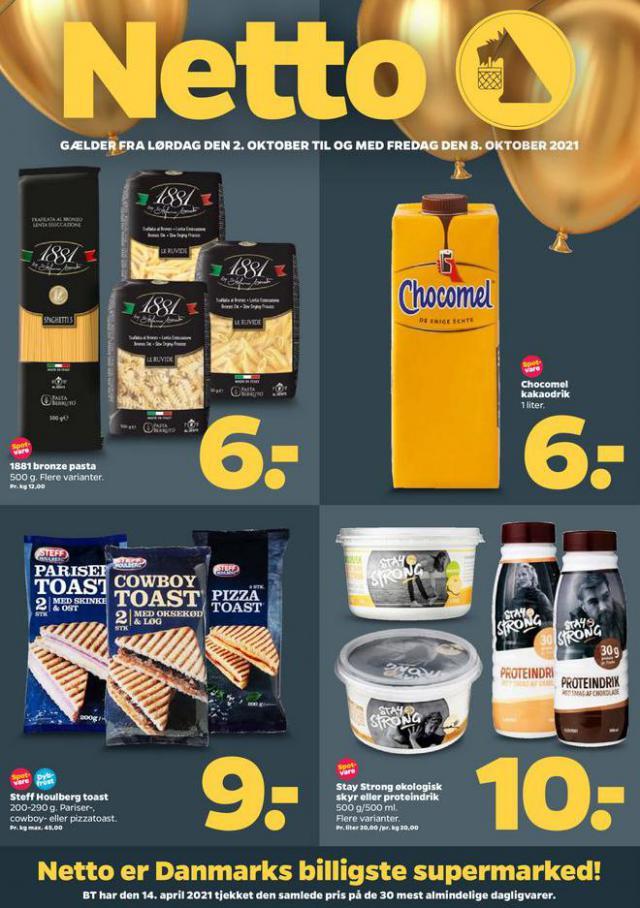 Netto er Danmarks billigste supermarked!. Netto (2021-10-08-2021-10-08)
