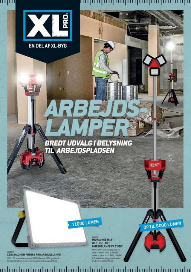 Arbejds Lamper. XL-BYG (2021-10-31-2021-10-31)