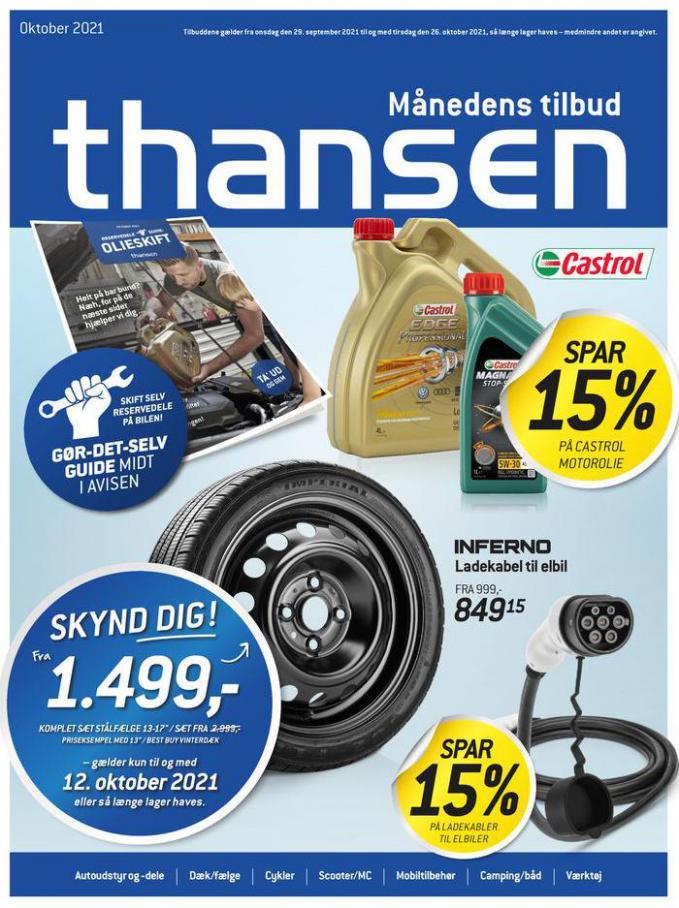 Aktuel tilbudsavis. Thansen (2021-10-26-2021-10-26)